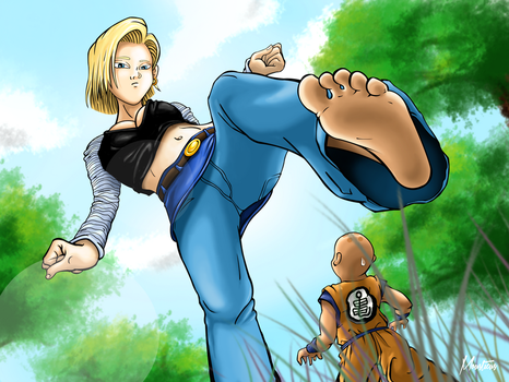 Android18 by Mousticus