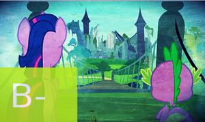 MLP FiM: S4 E3 - Castle Mane-ia Review by Cuddlepug