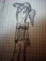 a Draw of me by me xD by ktovarsi18