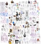 Extremely Huge Doodle Dump 7-4 to 11-21 by ryuuen