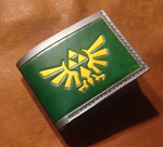 Link's Legend of Zelda bifold leather wallet by Arnakhat