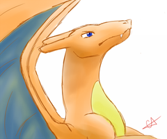 Charizard by crystal-alius