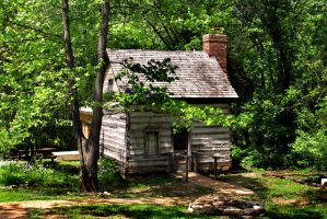 Little log house 1 by PridesCrossing