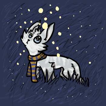 Robert Frost [YCH for lonely-dog-song] by OmegaWolfDoge