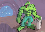 Lizard Guy by RedRodent