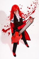 Grell Sutcliff cosplay by The-Irstress