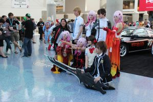 Guilty Crown - AX 2012 by AtomicBrownie
