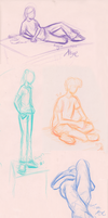 Figure drawing 12-2+12-3 by PirateQueenErin