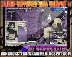 Orochimaru Theme Windows 7 by Danrockster