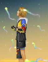 The dream is ending - FFX by Nakubi