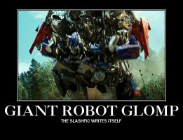 Epic Giant F-ing Robot Glomp by KillMarioLoveBowser