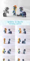 Spitfire and Soarin customs by Whatpayne