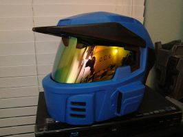 MKV Halo Caboose helmet finished by Hyperballistik