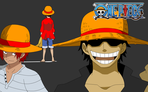 One piece - The straw hat! by freddie3star