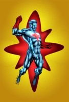 Captain Atom by MarcBourcier