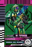 Form Ride Ryugen W Arms by Mastvid