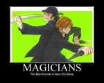 Magicians by MariSanomaFanFic