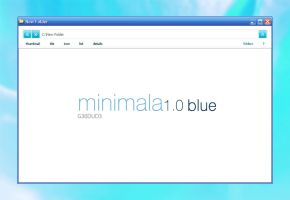 Minimala 1.0 Blue by g30dud3