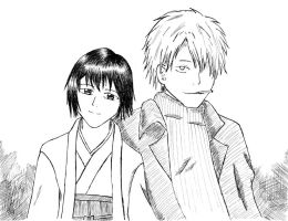 Ginko and Tanyu by tsuzuki-inu