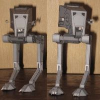 AT-ST by paperart