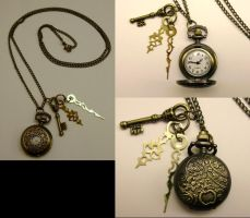 Mini Filigree Pocketwatch NK by pervyyaoifancier
