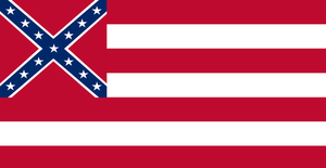 Alternate Confederate Flag #1 by Alternateflags