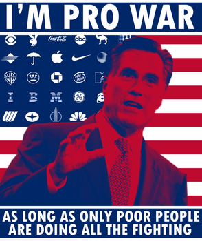 Romney the Chickenhawk by Party9999999