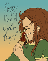 Happy Hug a Giant Day! by Biali