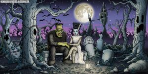 In The Grave Yard by vonblood