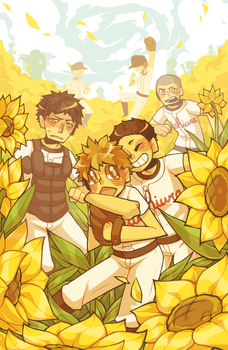 Sunflowers by Kiwifie