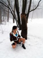 Lara Croft Cosplay - runes by TanyaCroft