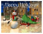 Happy Holidays by ivanjs