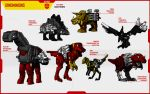 DINOBOT DINOMINIONS by F-for-feasant-design