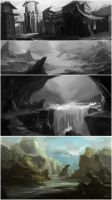 Environment Concepts Thumbnails by irvintustin