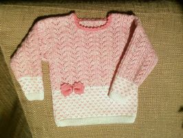 Pink Jumper for Girl by ToveAnita