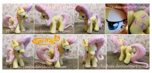 Fluttershy plush SOLD by Feneksia-Creations