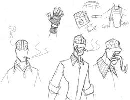 Some RPD doodles by RPDOfficer