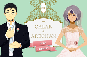 We tied the knot! by Arechan