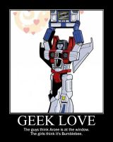 Geek Love Poster by tomthefanboy