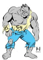 Gray Hulk by IanJMiller