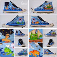 Sea Sneakers by Stardust-Splendor