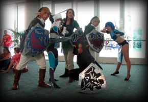 We are Awesome LOZ by AuberyMirkwood
