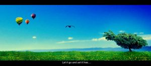 Let it go and set it free... by imuza