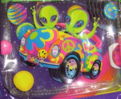 lisa frank close-up peace by ebaydragon