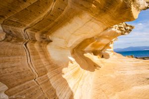 Maria Island - Painted Cliffs by QquietN