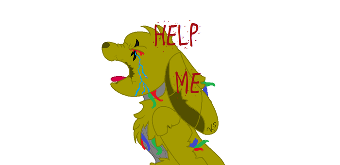 Springtrap paint by mlpchrysalis1233