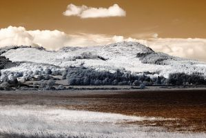 Infrared Screel, Auchencairn by Okavanga