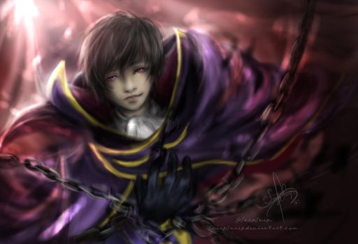 Lelouch Lamperouge by SnipSnipArt