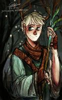 Jack Frost The Forest Guardian (?) by GrotesqueGaby