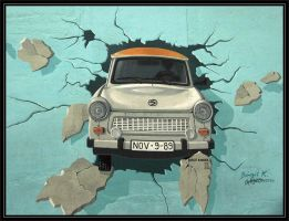 Trabi Break Out by lillimouse